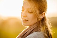 Camille (Raphaël Dupertuis) Tags: light sunset portrait orange sun beautiful yellow 35mm soleil nikon pretty f14 g coucher 85mm promenade camille ballade afs d800 morges vsco nikon85mmf14gafs vscofilm05