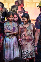 Holi Celebrations! (mynameisharsha) Tags: india love wet water colors festival happy riot nikon colorful indian bangalore culture laughter hebbal tradition splash hindu incredible holi colorsplash festivalofcolors kempapura d7100 mynameisharsha 55200mmf3556gvr