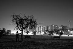 Sleep Safe and Warm (Icker_Malabares) Tags: city urban blackandwhite rome night solitude darkness anguish alienation dystopia nonluoghi