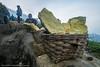 Penambang Belerang - DSCF0524 (franciscus nanang triana) Tags: trip travel indonesia volcano photo student foto tourist crater gunung sulfur jawa timur miners triana wisata nanang franciscus penambang upacara bendera ijen kawah banyuwangi belerang