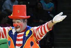 Circus Clown (Adventurer Dustin Holmes) Tags: circus clown clowns 2014 shrinecircus aboubenadhemshrinecircus aboubenadhemcircus