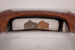 Window on Bodie (Jeffrey Sullivan) Tags: california park copyright usa snow storm chevrolet car canon town photo state cloudy ghost may rusty sierra historic bodie bridgeport eastern 1937 2014 jeffsullivan bdsh caliparks