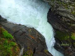 Molde - Trollmountain Waterfall (abrideu away on Holiday) Tags: norway canon waterfalls molde greatphotographers trollmountain abrideu