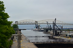 Soo Locks ((joan)) Tags: michigan locks lakesuperior internationalbridge saultsaintmarie