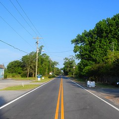 The Road Ahead. Day 60. State Rd. S 10-1024 in John's Island, SC. Only a heat index of 108 today. #TheWorldWalk #travel #road #wwtheroadahead