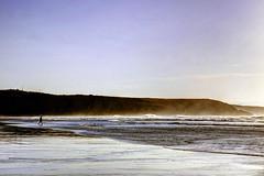 La playa de Xag, Asturias (ccc.39) Tags: sea costa beach atardecer mar asturias playa arena olas espuma cantbrico xag gozn