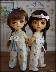 sisters <3 (*Joyful Girl  Gypsy Heart *) Tags: yellow blog doll little handmade clothes bjd etsy gypsy lati 16cm joyfulgirlgypsyheart