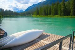 Banff Canoe Club (strawberrymachiatto) Tags: calgary alberta banff lakelouise canoneos350d canonrebelxt royaltyrrellmuseum