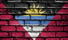 National Flag Antigua & Barbuda on Brick Wall (publicdomainphotography) Tags: peace wall brick mosaic nation background banner colors country ensign flag icon national state symbol tourism travel free freeimages royaltyfree freestockphoto antiguabarbuda