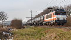 LC 9902 + ketelwagens - Terschuur - 20170127 (Cees_1251) Tags: 1800 1834 9902 gatx badbentheim bh ketelwagens lc locon terschuur vtg