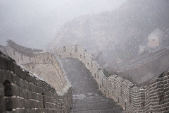 A Snow Kissed Great Wall (virtualwayfarer) Tags: china chinese unesco unescoworldheritage worldheritage worldheritagesite greatwallofchina thegreatwall architecture history historic fortification snow spring winter snowcovered brickwall invasion defensive greatwall wonderoftheworld ancient historical empty weather storm fog mist rain gatehouse walking walkingthewall travel tourism visitchina thingstosee alexberger virtualwayfarer canon canon6d adventure adventuretravel traveladventure lifestyleinspiration