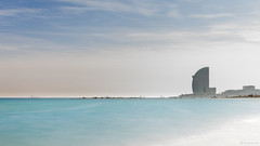 Barcelona (G.Comte) Tags: barcelona travel treatyourself spain espana espagne bacelone europe holidays winter sunlight landscape view sea ocean méditerrannée water blue nd1000 longexposure 10stopfilter