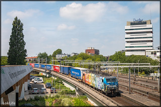 ERS 189 206 + Poznan shuttle, Rotterdam