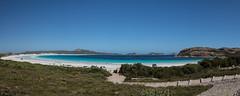 Lucky Bay (Ralph Green) Tags: australia capelegrandnationalpark luckybay westernaustralia beach ocean panorama rocks sea turquoisewater water whitesand