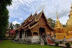 Wat Phra Singh (_JLC_) Tags: tailandia chiangmai templo temple wat arquitectura architecture paisaje paisajeurbano ciudad città city asia sudesteasiático watphrasingh canon canon6d eos 6d 2470f4