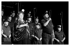 Rita MacNeil with Nipper MacLeod and the Men of the Deeps
