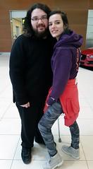 Bella Thorne and I! (TheSamuelYears) Tags: shakeitup bellathorne actress winnipeg wpg breakmyheart1000times disney theduff ratchetclank tv movie film musician singer music blended scream