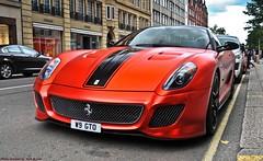 Ferrari 599 GTO Novitec Rosso (Jack de Gier) Tags: ferrari 599 gto novitec tuned exotic luxury supercar sportscar worldcar hypercar wrapped horsepower v12 london uk sloanestreet knightsbridge mayfair w9gto matte red rosso