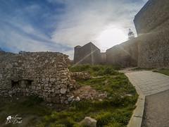 The wall (lulo92) Tags: wall muro castello castle rovine otranto lecce puglia apulia mare sea sun sunstet sunrise raggi yellow bauty street gopro gopro5 hero