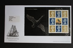Constellation Cygnus -  FDC from DX29 'Across the Universe' Stamp Booklet (Darren...) Tags:
