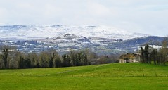 Old cottage. (carolinejohnston2) Tags: ireland fermangh cottage snow mountain hills countryside florencecourt cuilcagh ruin wintery