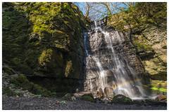 Waterfall Swallet near Eyam (joeoswin.photo) Tags: peak district peaks derbyshire landscape watefall water stream national park swallet foolow eyam trees sony a7rii 1635 outdoors adventure