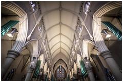 St Stephen (Jaka Pirš Hanžič) Tags: brisbane city australia queensland qld church cathedralofststephen architecture interior religion wideangle view vignette