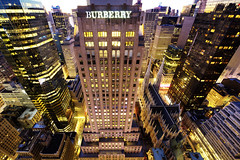 BURBERRY (Tony Shi Photos) Tags: burberry buildings nyc ny new york newyork newyorkcity manhattan midtownmanhattan madison ave avenue st patricks church stpatrickschurch saintpatrickschurch vantagepoint topview aerial famous travel night metropolis urban cityscape