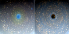 Saturn's North Polar Vortex - March 28 2017 (Kevin M. Gill) Tags: saturn northpole vortex hexagon cassini nasa jpl planetary science astronomy space