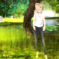 River (Angel Tzara  Find me @ angeltzara.com) Tags: truth maitreya teefy glamaffair