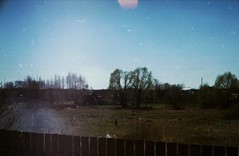 dacha (brainsdown) Tags: sun house nature 35mm lights russia wakeup yashica 2013