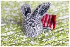 Little Cotton Rabbit 1 (ramblingroses) Tags: bunny softie littlecottonrabbits