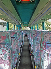 Interior of Rambler Coach (Reg X500GDY) (Gerry A Powell) Tags: quality infocus highqualityrambler coachesmercedes benzhispano vitax500gdyhigh