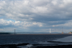 In Shadow and Light (willumhg) Tags: uk bridge sea england wales river sony tide estuary severn a200