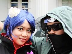 Get Along (Konan and Shino) (yusuf ks) Tags: anime festival japan indonesia tokyo little cosplay jakarta nippon naruto matsuri shino jepang akatsuki konan blokm 2013 sooc aburame melawai ennichisai