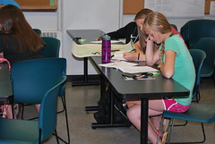 Exploration_Days_2013 (msuanrc) Tags: youth campus reading michiganstateuniversity teens learning knowledge teaching 4h studying summercamps youthdevelopment precollegeprograms explorationdays