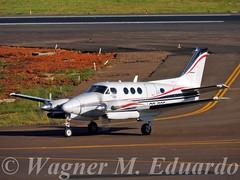 PR-CCF (Wagner M. Eduardo) Tags: beechcraft kingair c90a prccf