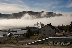 fog and cruisesbt (kjellbendik) Tags: norge himmel hav finnmark honningsvg bl tka magerya byggning naturoglandskap kjellbendik kjellbendikgmailcom