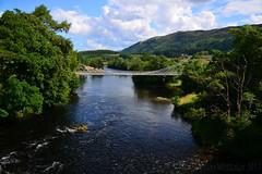 Bridge Of Oich Landscape (Stephen Whittaker) Tags: bridge water river landscape scotland nikon oich d5100 whitto27