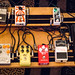 Aaron West's pedal board