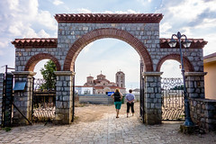 Upper Gate (Michael Olea) Tags: travel macedonia ohrid balkans fyrom 2013