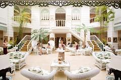 アフタヌーンティーで人気のホテル マンダリン オリエンタル バンコク