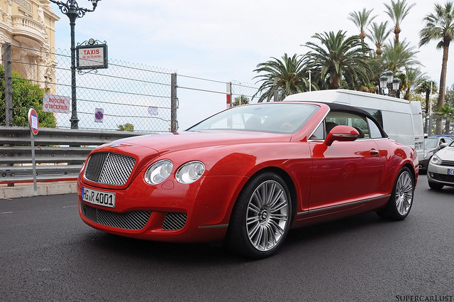red convertible monaco luxury 2013 topmarques nikond90 bentleycontinentalgtcspeed