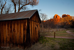 Sunset on Cathedral Rock (Michael Juvet) Tags: sunset arizona southwest rock cathedral sedona az