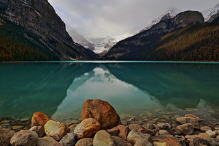 Lake Louise Zen Boulder October 2013