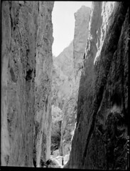 Stanley Chasm in Central Australia (State Records SA) Tags: blackandwhite photography australia historical southaustralia stanleychasm frankhurley srsa staterecords staterecordsofsouthaustralia staterecordsofsa
