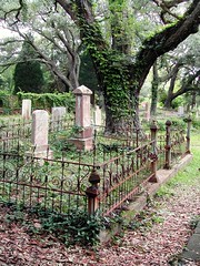 Southport historic cemetary (David McSpadden) Tags: cemetery fences northcarolina southport smithvilleburyingground oakislandsouthport