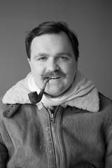 Chocs away Mr. Corsack! (FOAD WAX) Tags: pipe smoking moustache wax foadwax
