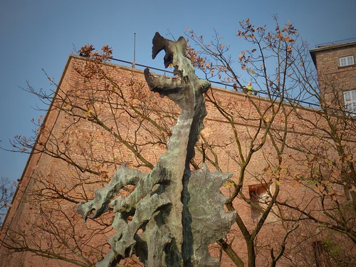 Dragon de Cracovie, Pologne