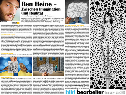 Sun uk news article ben heine art by ben heine